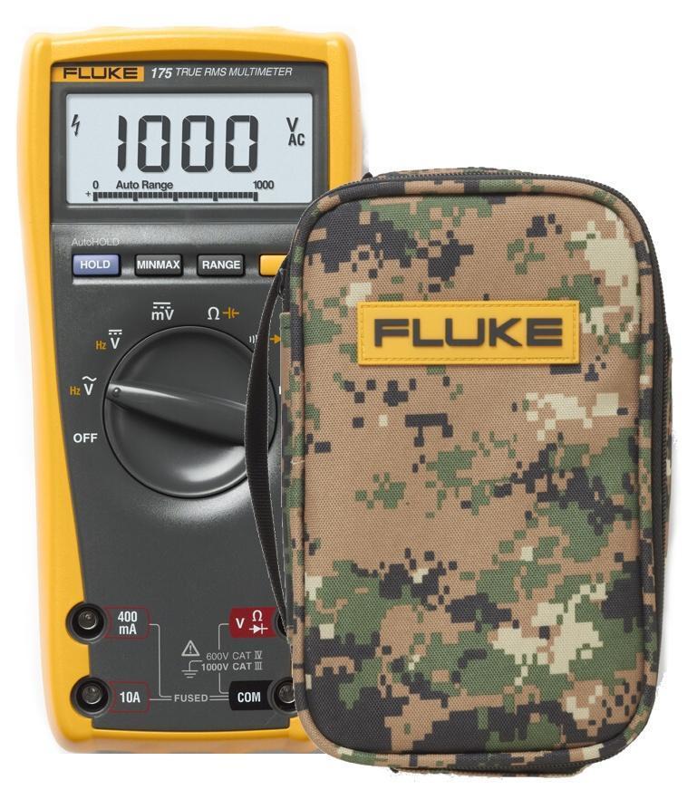Digitální multimetr Fluke 175 + pouzdro Fluke C25 Camo - 1