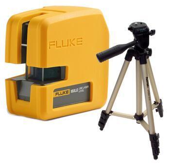 Fluke 180LG - nivelační křížový laser a stativ HAMA Star 05 - 1