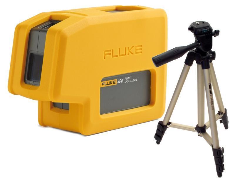 Fluke 3PR - nivelační bodový laser a stativ HAMA Star 05 - 1