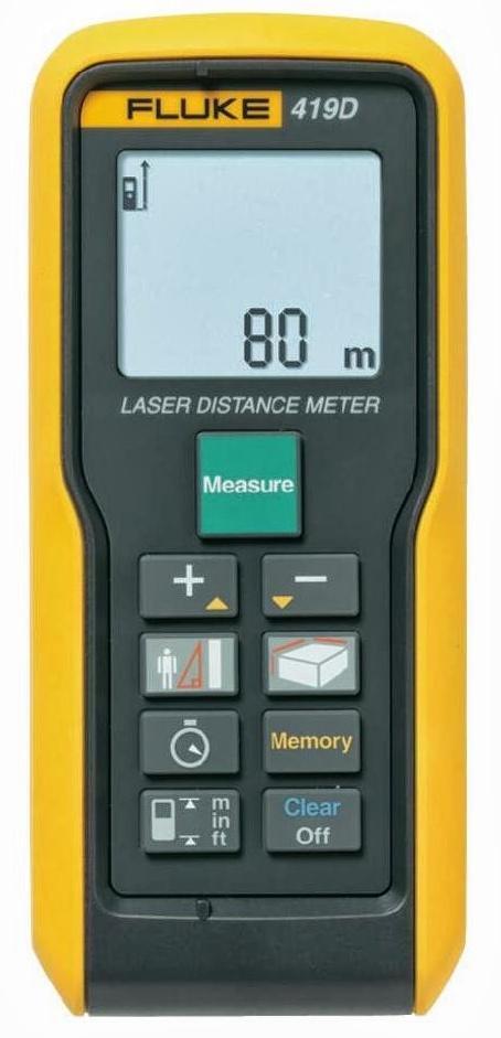 Fluke 419D - laserový měřič vzdálenosti, až 80 m - 1