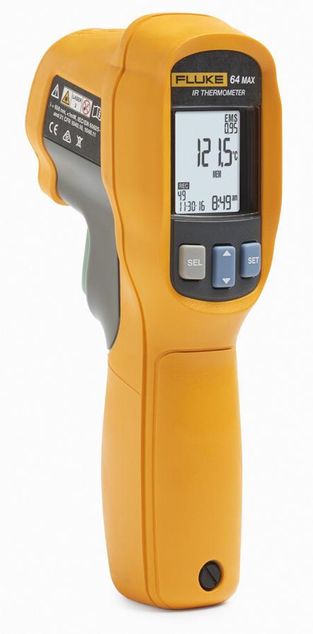 Fluke 64 MAX - průmyslový IR teploměr -30 až +600 °C - 1