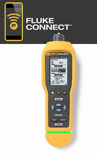 Fluke 805 FC - měřič mechanických vibrací - 1