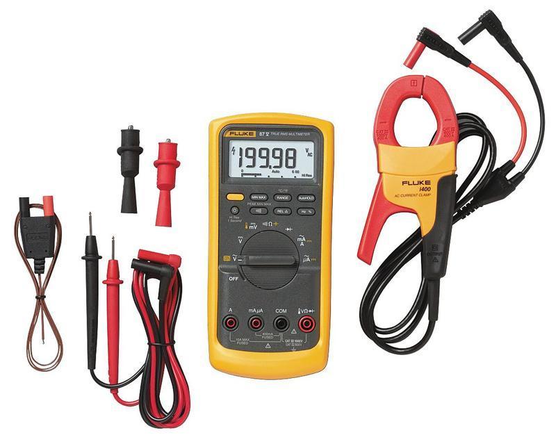 Fluke 87V/IMSK - digitální multimetr, sada pro servisní techniky - 1