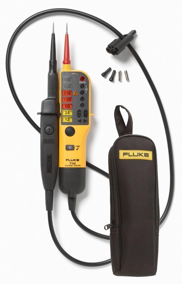 Fluke T110 - zkoušečka napětí a pouzdro Fluke C150 - 1