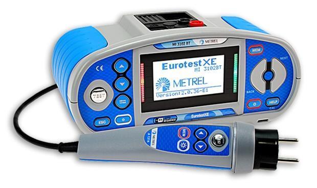 Sdružený revizní přístroj Eurotest XE BT (MI3102 BT) - 1
