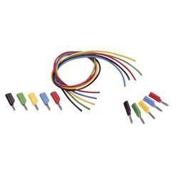 Sada měřicích kabelů banánek 4 mm ⇔ banánek 4 mm Voltcraft MS-4041, 1 m - 1