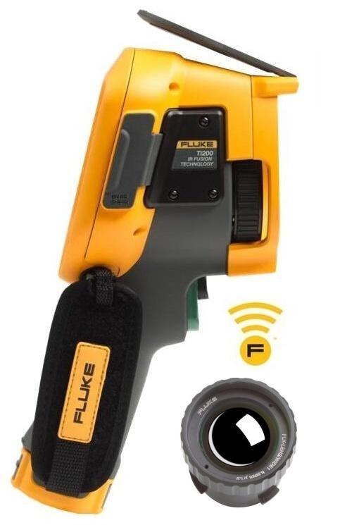 FLUKE Ti200 termokamera + objektiv FLUKE
