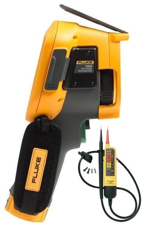 FLUKE Ti200 termokamera + zkoušečka FLUKE T90
