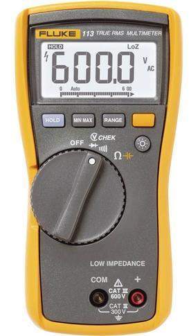 Fluke 113 - digitální multimetr + pouzdro Fluke C25 - 2