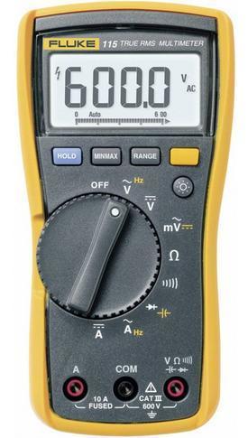 Fluke 115 - digitální multimetr + pouzdro Fluke C25 - 2