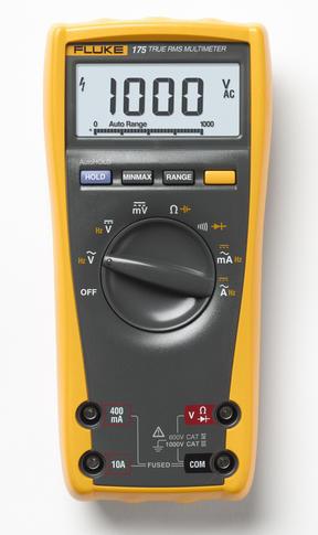 Digitální multimetr Fluke 175 + pouzdro Fluke C25 Camo - 2