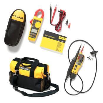 Výhodný set - klešťový ampérmetr Fluke 325 + Fluke T150 a Fluke C550 - 2