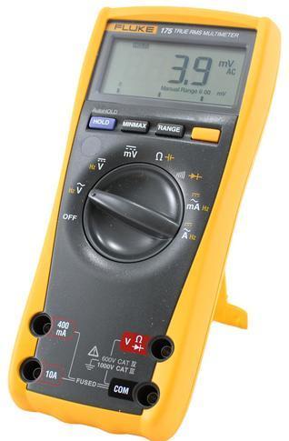 Digitální multimetr Fluke 175 + pouzdro Fluke C25 Camo - 3