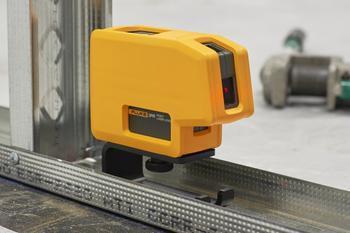 Fluke 3PR - nivelační bodový laser a stativ HAMA Star 05 - 3