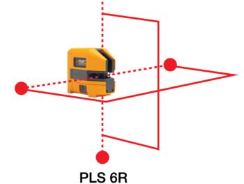 Nivelační křížový a bodový laser Fluke PLS 6R Z - 4