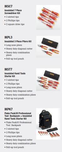 Fluke IKST7 - sada izolovaných šroubováků a elektrikářských kleští - 6