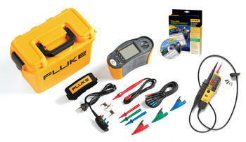 Tester elektrických instalací Fluke 1662 + Fluke T110 a SW - 7